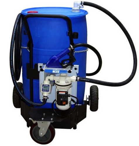 DEF3-TM49N4 Portable 55 Gallon Electronic Pumping System