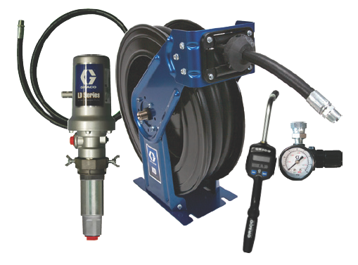 3:1 Graco LD Pump Kit with 75ft. SD Reel and Manual Meter