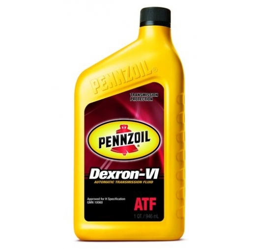 Pennzoil ATF Dexron VI Automatic Transmission Fluid - Case of 6 (1 qt)