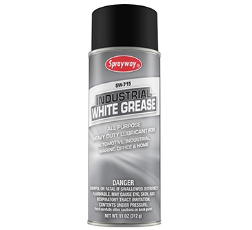 Sprayway Industrial White Grease Lubricant - Case of 12