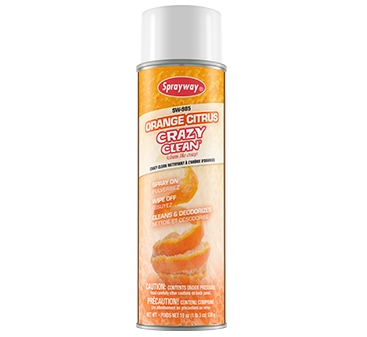 Sprayway Orange Citrus Crazy Clean - Case of 12