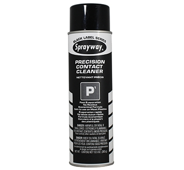 Sprayway P1 Precision Contact Cleaner - Case of 12