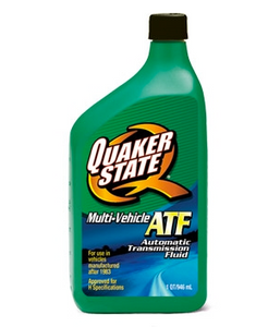 Quaker State Multi Vehicle ATF Automatic Transmission Fluid - Case of 6 (1 qt)