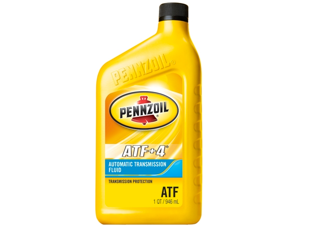 Pennzoil ATF +4 Transmission Fluid - Case of 6 (1 qt)