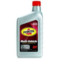 Pennzoil Multi-Vehicle ATF Automatic Transmission Fluid - Case of 6 (1 qt)