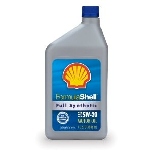 FormulaShell Synthetic Blend 5W-20 (SN/GF-5) Motor Oil - Case of 6 (1 qt)