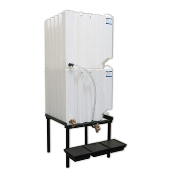 Tote-A-Lube Gravity Feed System (2) 120 Gallon Tanks