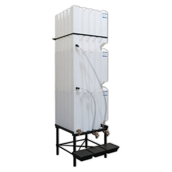 Tote-A-Lube Gravity Feed System (3) 120 Gallon Tanks