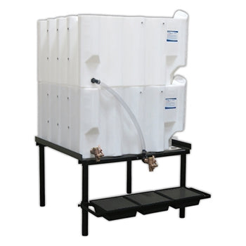 Tote-A-Lube Gravity Feed System (2) 130 Gallon Tanks