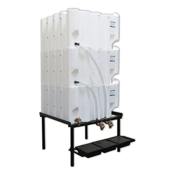 Tote-A-Lube Gravity Feed System (3) 130 Gallon Tanks