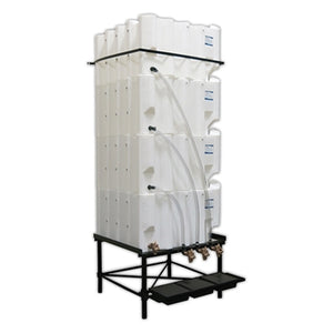 Tote-A-Lube Gravity Feed System (4) 130 Gallon Tanks