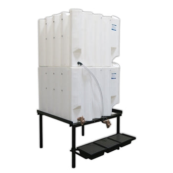 Tote-A-Lube Gravity Feed System (2) 180 Gallon Tanks
