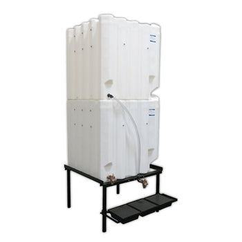 Tote-A-Lube Gravity Feed System (2) 240 Gallon Tanks