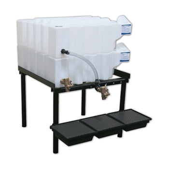 Tote-A-Lube Gravity Feed System (2) 35 Gallon Tanks