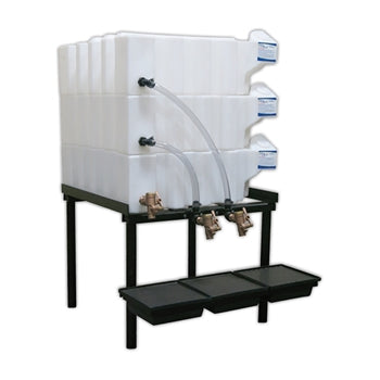 Tote-A-Lube Gravity Feed System (3) 35 Gallon Tanks