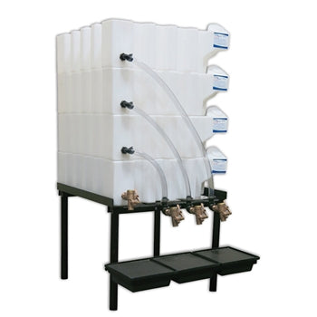 Tote-A-Lube Gravity Feed System (4) 35 Gallon Tanks