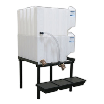 Tote-A-Lube Gravity Feed System (2) 70 Gallon Tanks