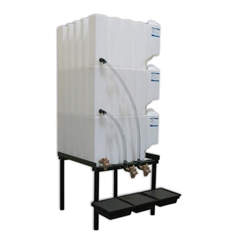 Tote-A-Lube Gravity Feed System (3) 70 Gallon Tanks