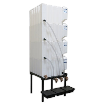 Tote-A-Lube Gravity Feed System (4) 70 Gallon Tanks