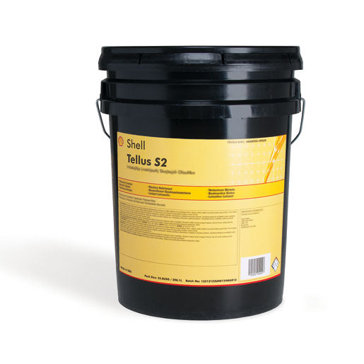 Shell Tellus S2 VX 22 Hydraulic Oil - 5 Gallon