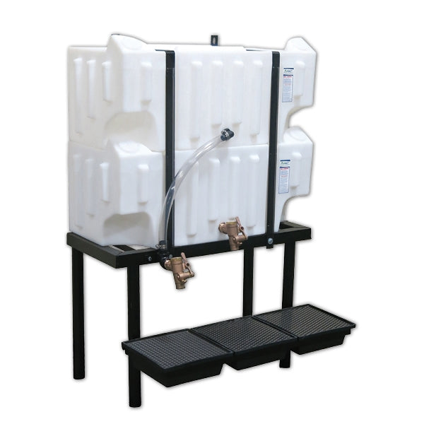 Wall-Stacker Gravity Feed System (2) 32 Gallon Tanks
