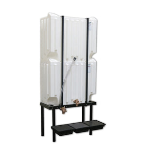 Wall-Stacker Gravity Feed System (2) 71 Gallon Tanks