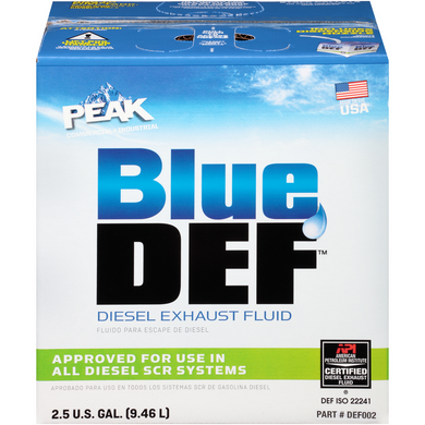 BlueDEF Premium Diesel Exhaust Fluid - 2.5 Gallon Case