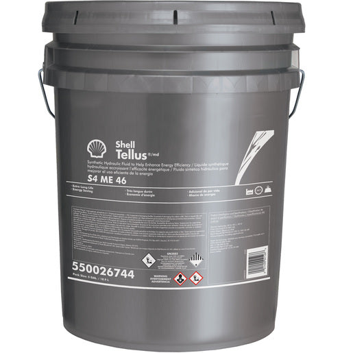 Shell Tellus S4 ME 46 Hydraulic Fluid - 5 Gallon Pail