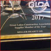 2017 Supplier of the Year - Great Lakes Construction Association