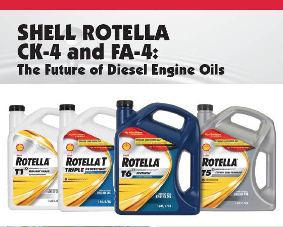 Shell Rotella CK-4 And FA-4 - The Future Of Diesel Engine Oils