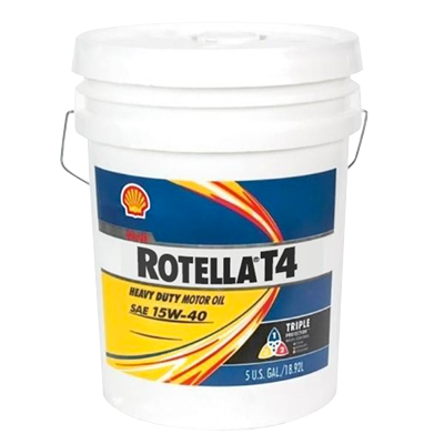 Shell Rotella T4 15W-40 Motor Oil