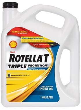Shell Rotella T Triple Protection