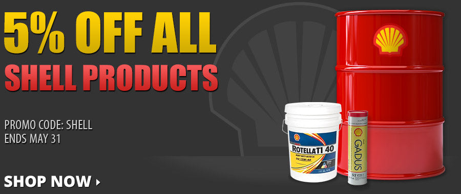 5% Off All Shell Products