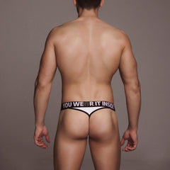TANGA - G-STRING BLANCO ( MX081)