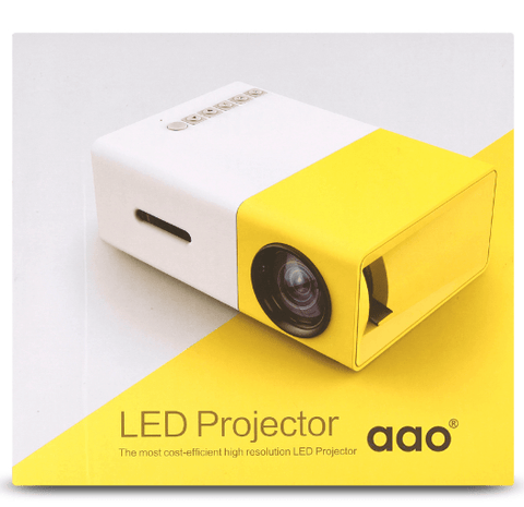 Limited Edition - VueCube HDMI LED Portable Projector