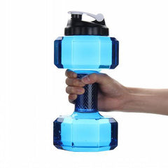 Dumbbell Shaped Water Bottle 2.2L Volume