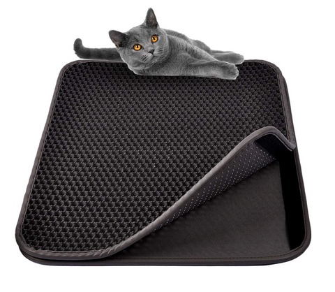 Cat Litter Mat - Non Toxic - Waterproof - Paws Friendly