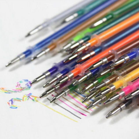 48 Pcs Gel Pen Refills