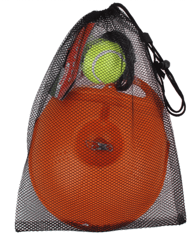 Portable Tennis Trainer - High Quality Plastic Base and Tennis Ball With Elastic String