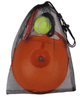 Image of Portable Tennis Trainer - High Quality Plastic Base and Tennis Ball With Elastic String