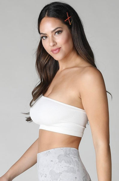 Essential Seamless One Shoulder Top