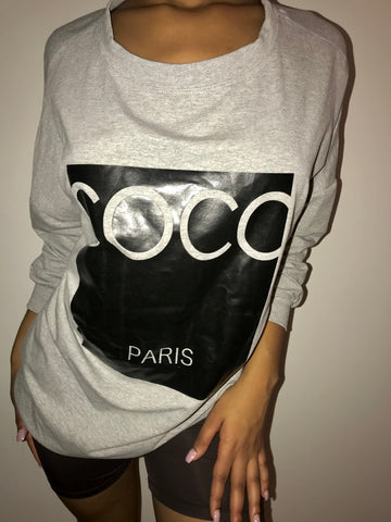 COCO Paris Oversized Sweatshirt