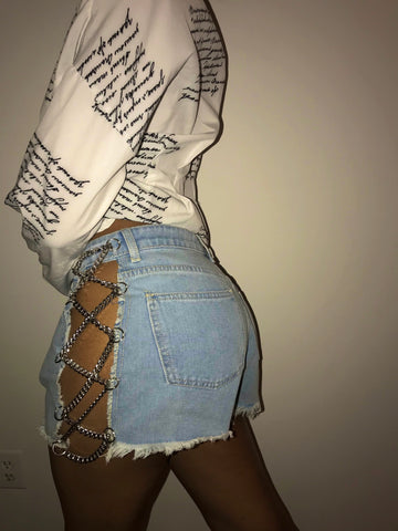 Luxe Chain Shorts