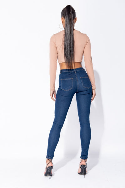 Missy High Waist Jeans