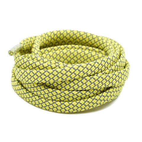 3M Reflective Flat Shoelaces - Yellow