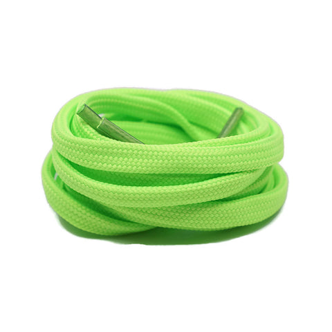 Flat Laces - Neon Green