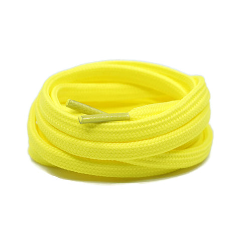 Flat Laces - Neon Yellow