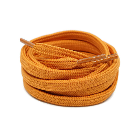 Flat Laces - Creme Orange
