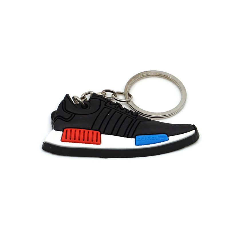 NMD Keychain - Black Red Blue (OG)
