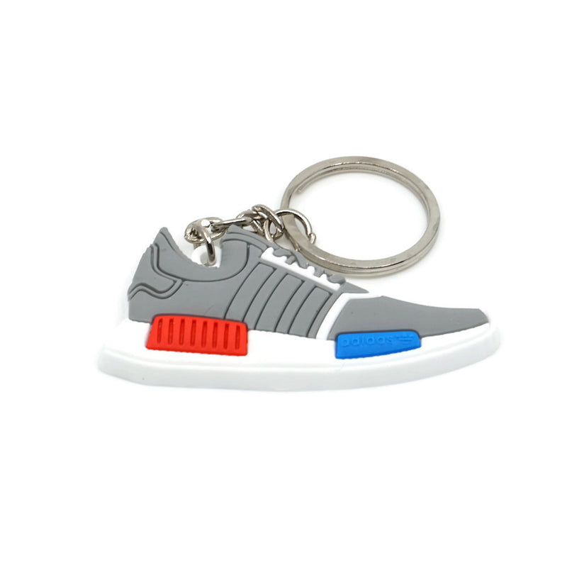 NMD Keychain - Gray Red Blue